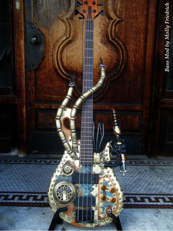 Jugtones Steampunk Guitar