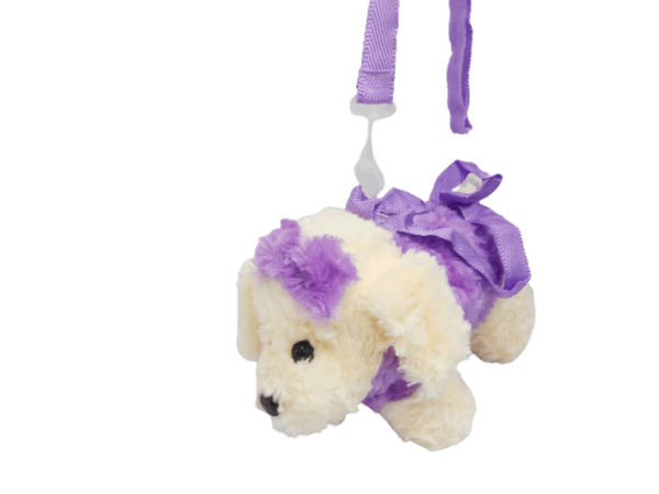 Bolso perro de peluche