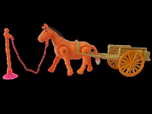 Caballo Carreta juguete niños