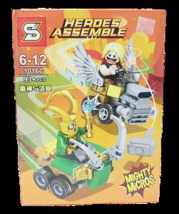 Lego Héroes Assemble