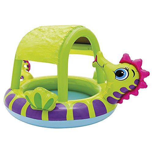 Piscina hinchable para bebs con parasol  Juguetespequecom