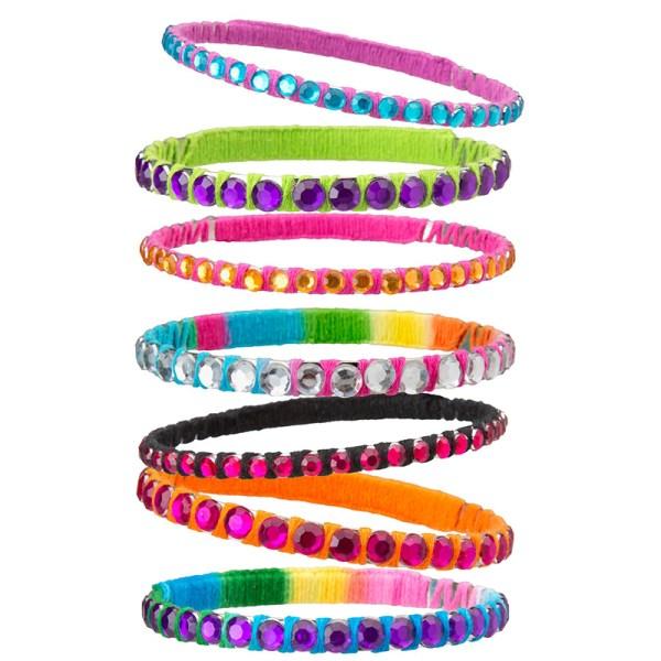 Kit de joyería con brazaletes Bling