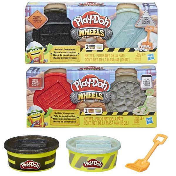 Play Doh Wheels masa de construcción