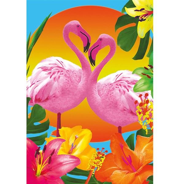 Rompecabezas 500 piezas Flamingos