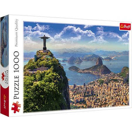Rompecabezas Trefl 1000 piezas Rio de Janerio Brasil
