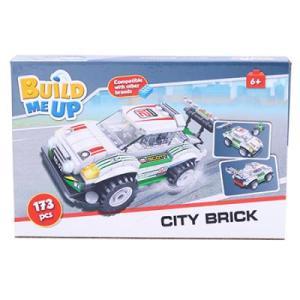 Build Me Up, Bloques de Armar Auto de Carreras 173 pcs