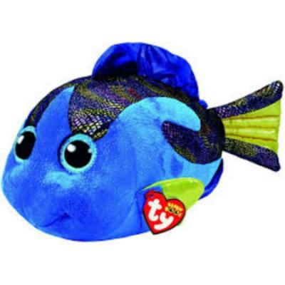 Peluche Beanie Boos Aqua Pez Azul