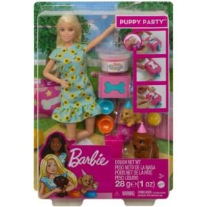 Muñeca Barbie Puppy Party
