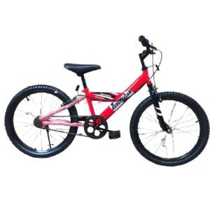 Bicicleta Roja de 20″ para Niño