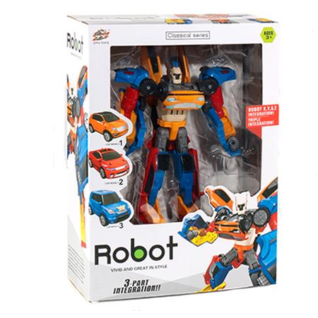 Carro Trasformation Robot 3 en 1