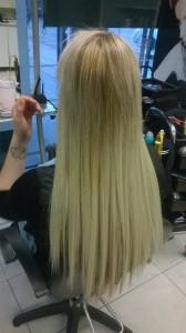 hiukset jälkeen 1