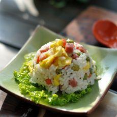 【蛋炒飯怎么做好吃】蛋炒飯的做法,配方,步驟圖解-食譜秀