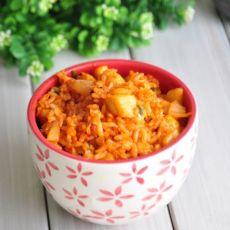 韓國泡菜肥牛炒飯-食譜秀