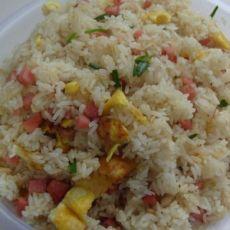 [8圖]家常蛋炒飯的做法,配方,步驟圖解-食譜秀
