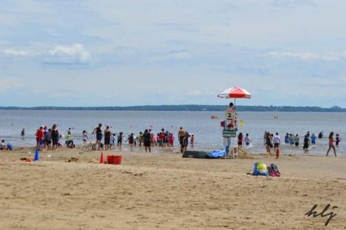 Oka beach daytime