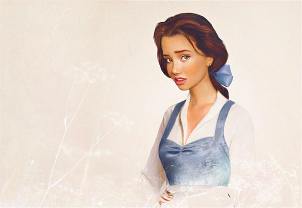 Personagens da Disney - fotografia e ilustração digital (5/6)