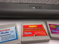 Tiger program cartridges.
