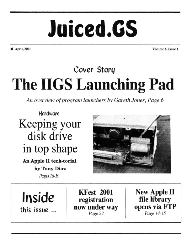 Volume 6, Issue 1 (April 2001)
