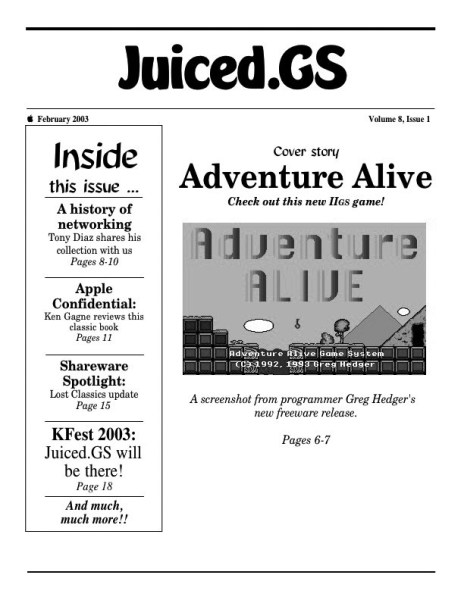 Volume 8, Issue 1 (February 2003)