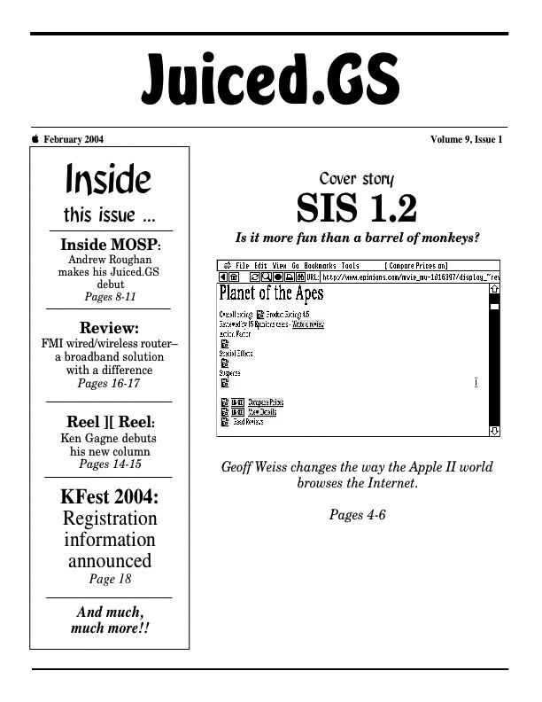 Volume 9, Issue 1 (February 2004)