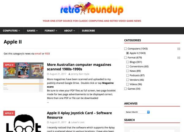 Retro Roundup screenshot