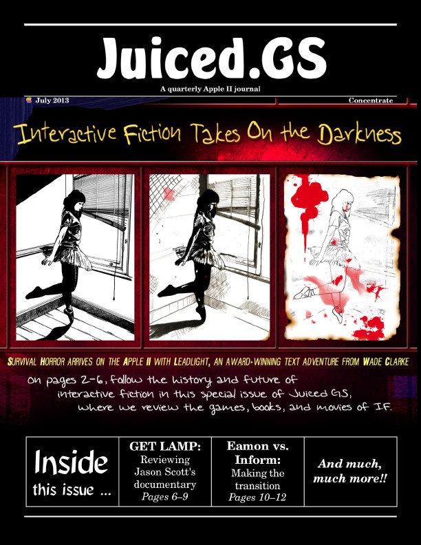 Juiced.GS Concentrate: Interactive Fiction