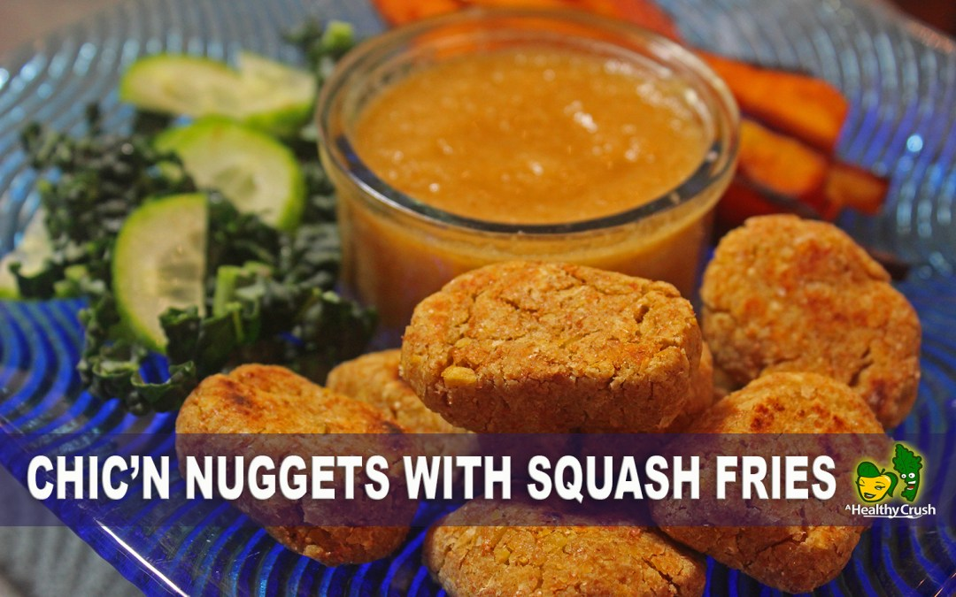CHICK'N NUGGETS WITH SQUASH FRIES | DR. SEBI APPROVED