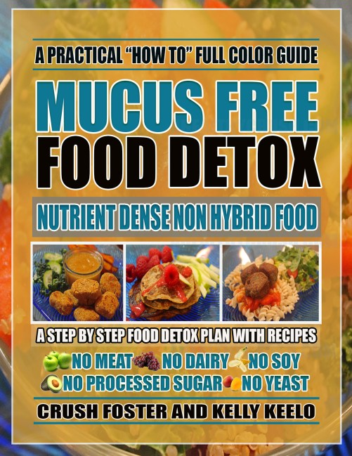 #MUCUS FREE FOOD DETOX COVER