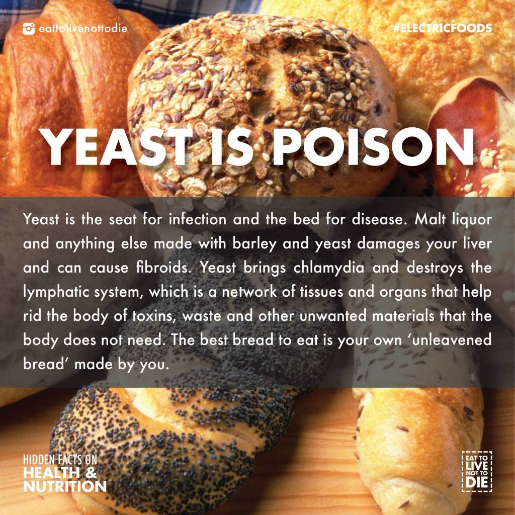 Is Yeast Poison? | JUICE HUGGER'S A HEALTHY CRUSH