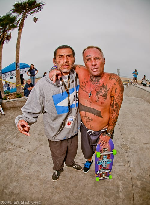 JESSE MARTINEZ AND JAY ADAMS. PHOTO: RAY RAE GOLDMAN