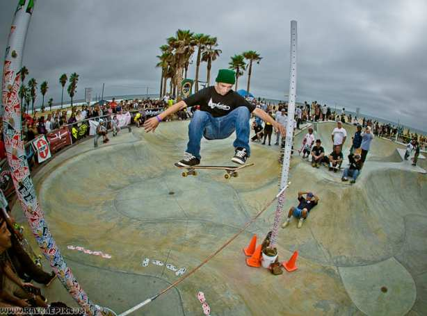 Overview of the Highest Ollie on the Hip contest grounds. PHOTO: RAY RAE GOLDMAN