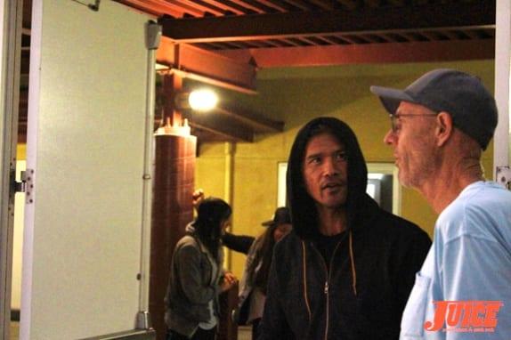 Pat Ngho and Craig Stecyk III Photo. Dan Levy
