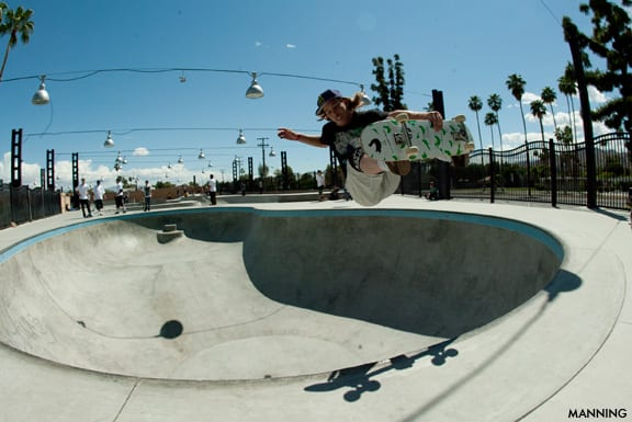Palm Springs Skatepark. Photo: Sean Manning