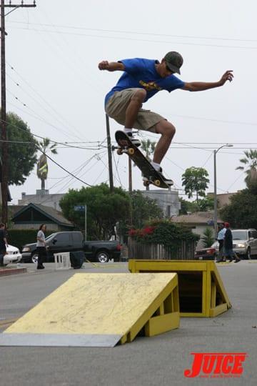 VSA Skate contest. Photo: Dan Levy