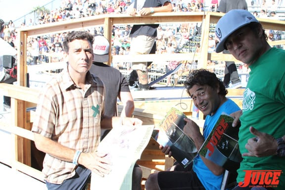 Lance Mountain and Steve Caballero