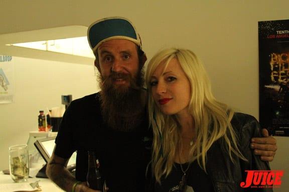 Gareth Stehr and friend