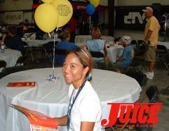 Florida girl at ESS. Photo: Terri Craft