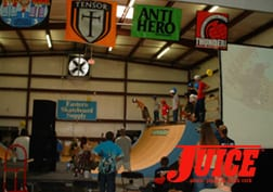 ESS skate ramp. Photo: Terri Craft
