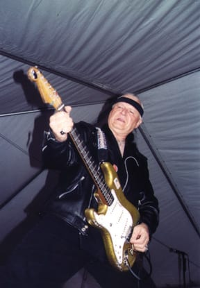 Dick Dale in action - Photo: Jeff Ho