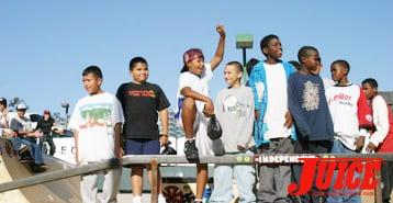 Watts kids. Photo: Dan Levy