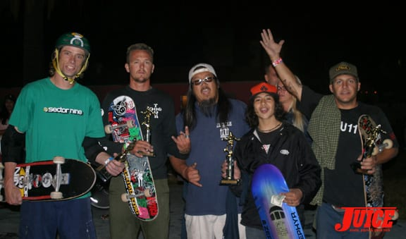 Jake Piasecki, Pee Wee, Jeff Ho, Chaz Pineda, Jimmy The Greek Marcus