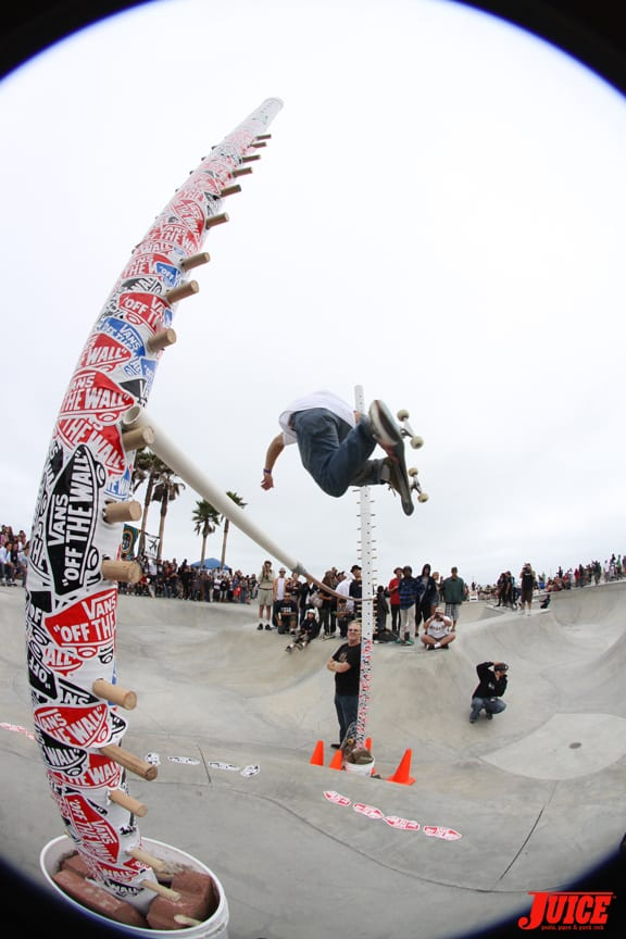 Highest Ollie Contest. PHOTO: DAN LEVY