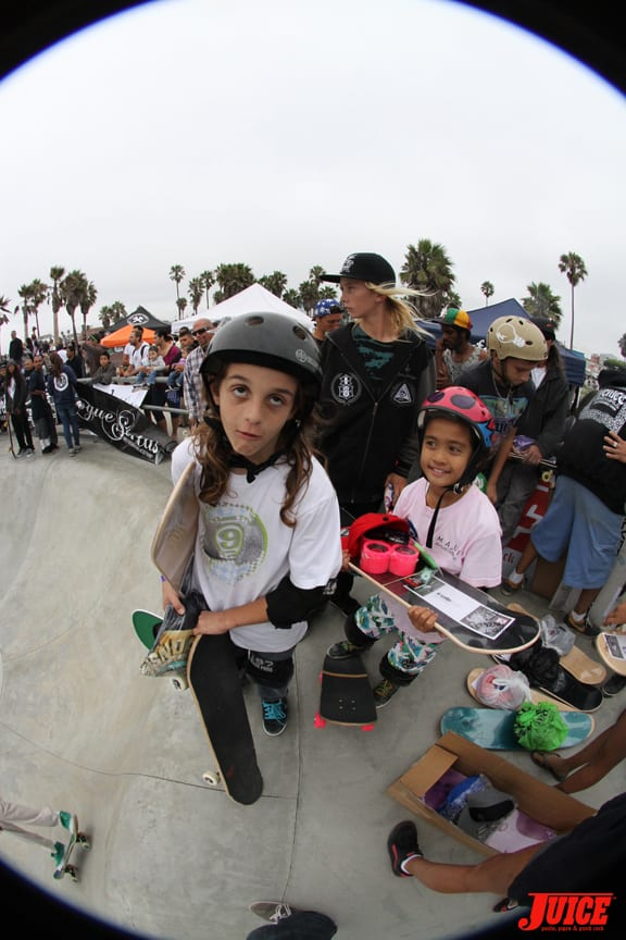 These groms were stoked. PHOTO: DAN LEVY
