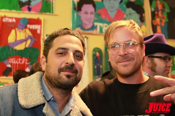 YANIV EVAN AND CHAD MUSKA. PHOTO © DAN LEVY