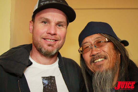JEFF AMENT AND JEFF HO. PHOTO © DAN LEVY