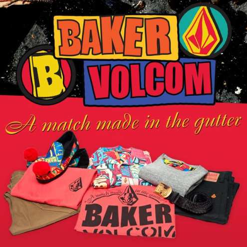 Baker & Volcom Collab Launch Party