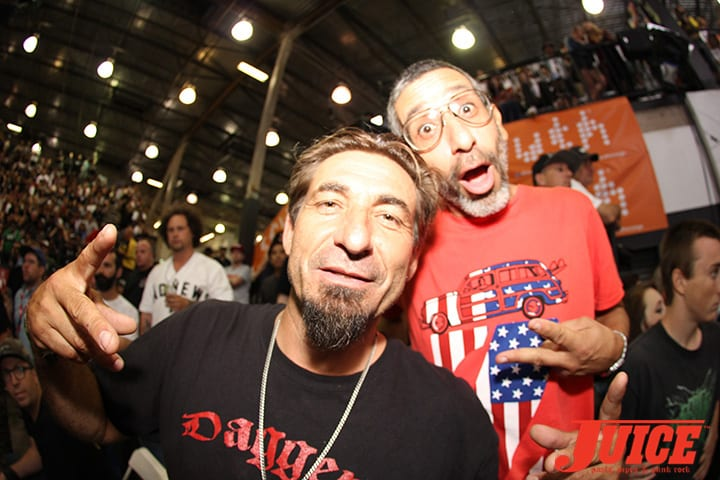 EDDIE REATEGUI AND EDDIE ELGUERA. VANS POOL PARTY 2014. PHOTO BY DAN LEVY