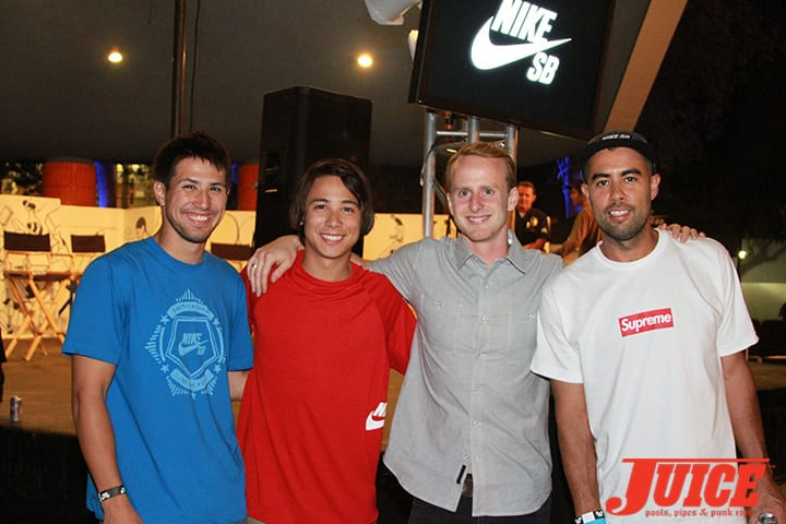 MALTO'S BRO, SEAN MALTO, ALEC BECK, ERIC KOSTON. WEST L.A. COURTHOUSE. PHOTO BY DAN LEVY