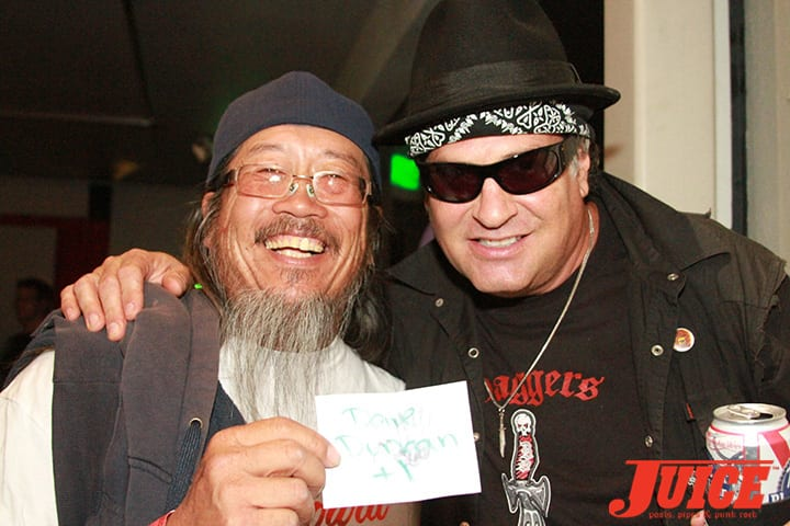 Jeff Ho and Dave Duncan. Daggers Rule! 2014. Photo by Dan Levy