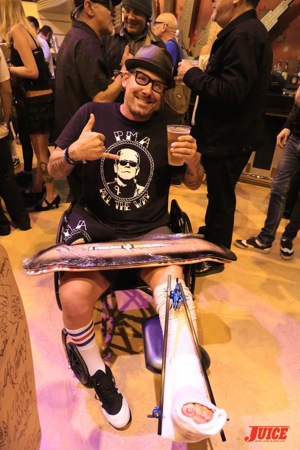 Josh - Spina Bifida Skater. Photo by Dan Levy © Juice Magazine
